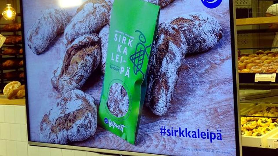 'Jiminy Cricket': Finnish bakery introduces insect bread