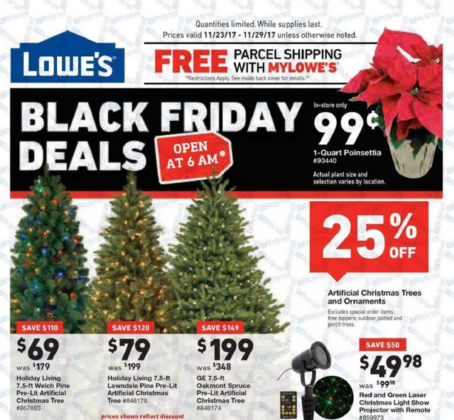 Lowe's Black Friday Deals 2017 – View Full Ad Scan - Gazette Review