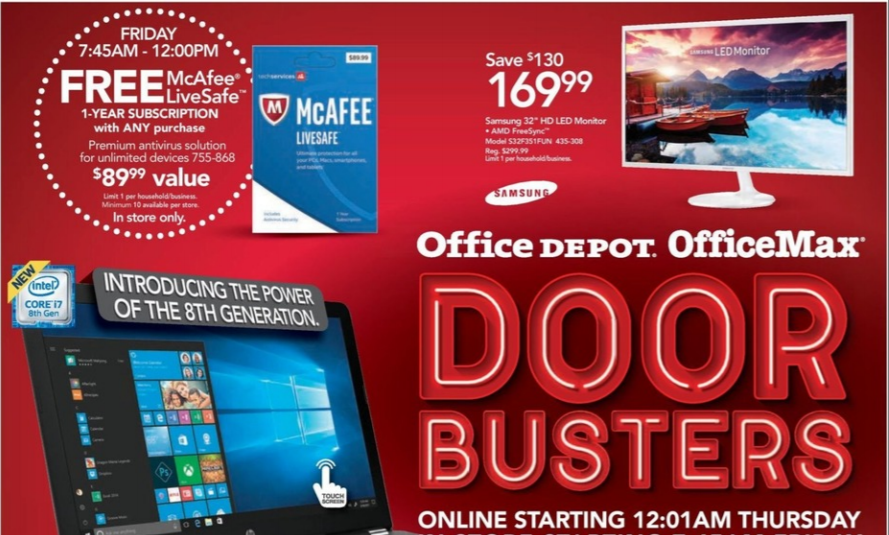 Officemax Black Friday 2019