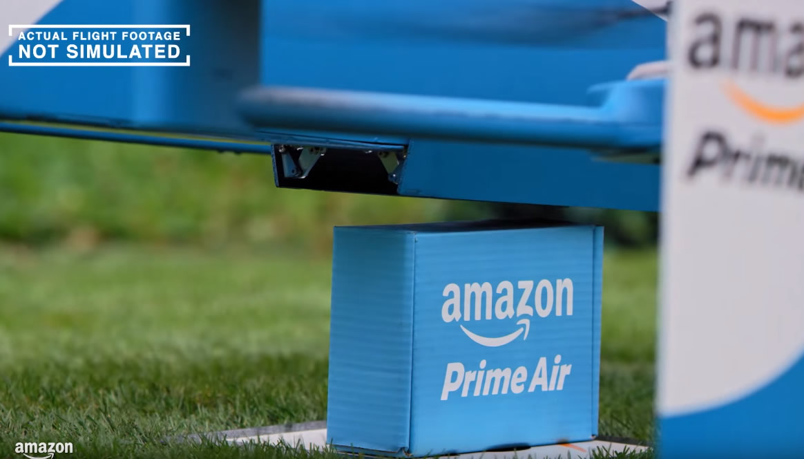 Amazon patent self-destructing fail-safe for its drone service