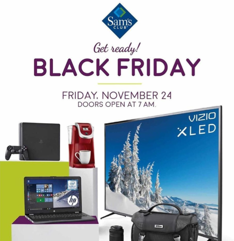 aecc7c463fc Sam s Club Black Friday Deals 2018 - All Discounts   Coupons ...