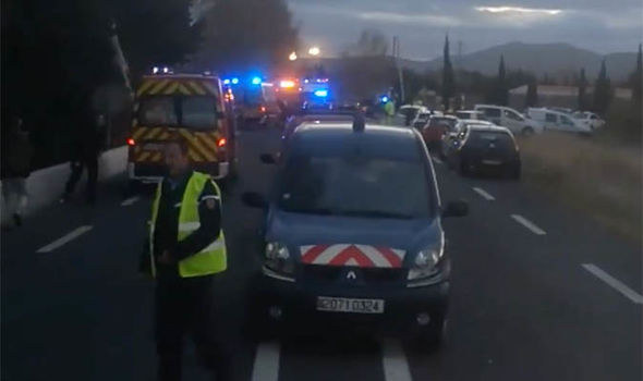 At least three dead after train hits school bus in France