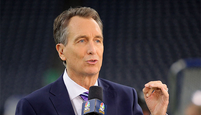 Cris Collinsworth shouldn't hold back his usual barbs ... |Cris Collinsworth