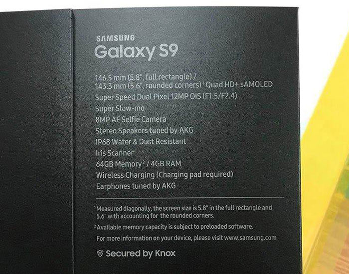 Samsung Galaxy S9 & Galaxy S9+ Show Up At FCC