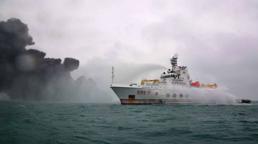 Excessive Climate Hinders Oil Tanker Hearth Rescue Efforts in East China Sea