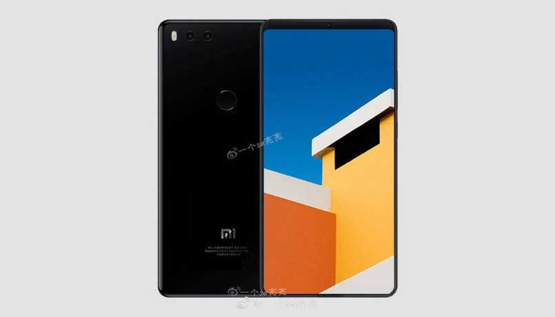 Alleged Xiaomi Mi 7 Render With Extremely Thin Bezels Leaks