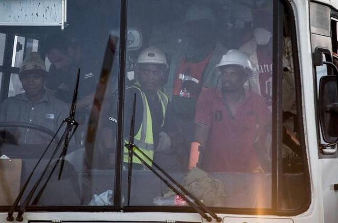 First group of trapped Sibanye Gold miners resurface