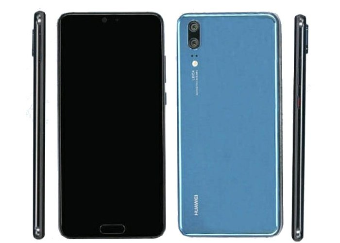 Images of an early Huawei P20 prototype leak online