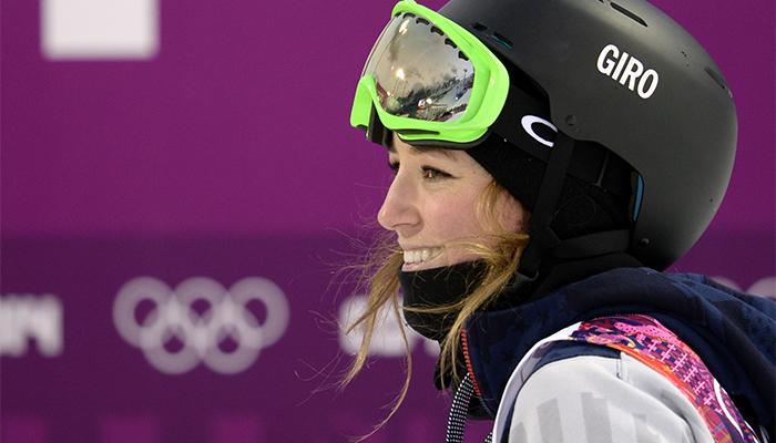 Canada's Cassie Sharpe wins gold in halfpipe