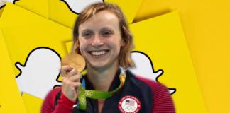 Katie Ledecky Snapchat