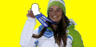 Tina Maze Snapchat