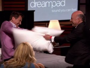 DreamPad on Shark Tank