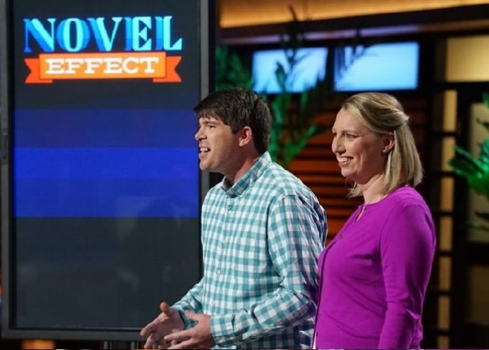 Novel Effect on Shark Tank