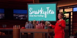Snarky Tea on Shark Tank