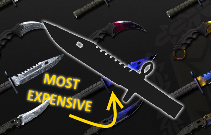 Top 10 Most Expensive CSGO Knives