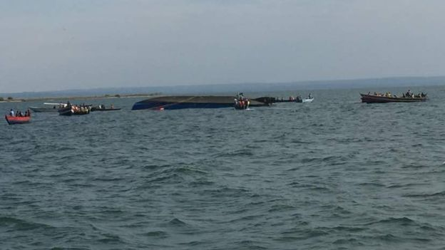 Dozens dead after ferry sinks on Lake Victoria