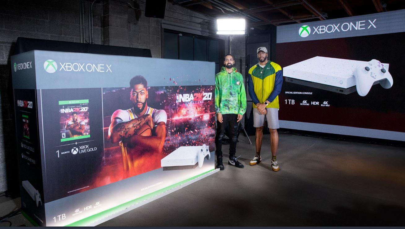 Anthony Davis Unveils Xbox One X Nba 2k20 Bundle Gazette