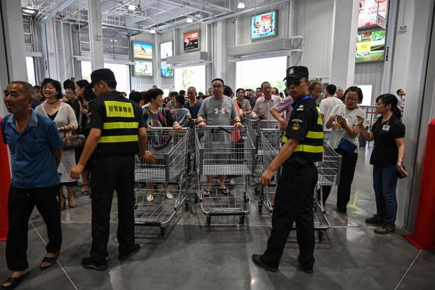 A Costco opened in China - and absolute chaos ensued