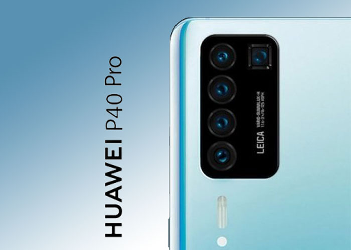 Huawei P40 Pro new render shows penta-camera setup