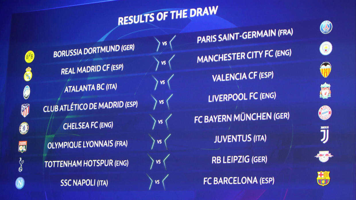 Champions League: Chelsea drawn against Barcelona